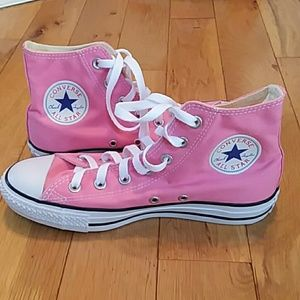 Converse chuck taylor all star pink high tops nwob